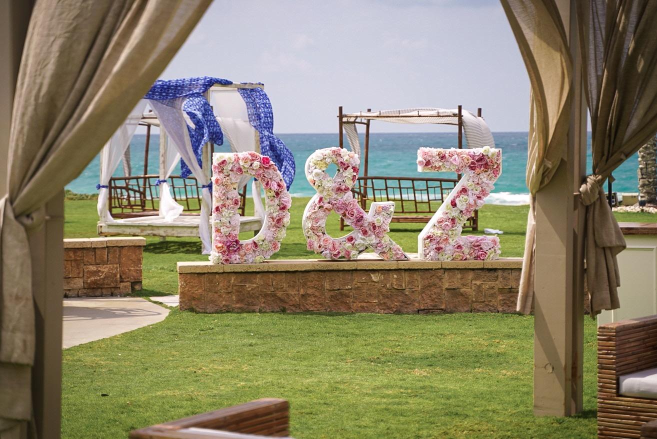 אותיות-פרחים-לחתונה