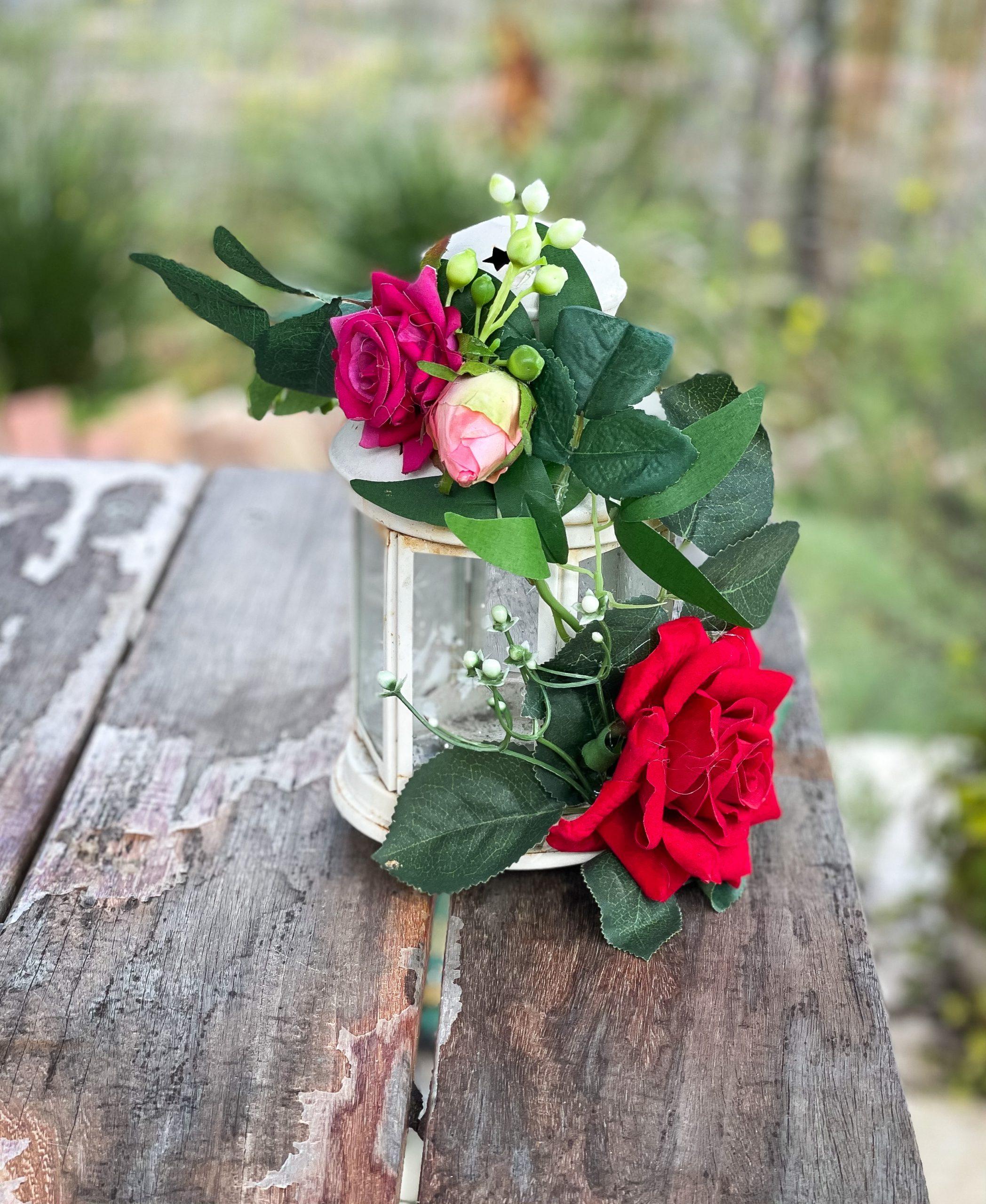 אותיות פרחים להצעת נישואין